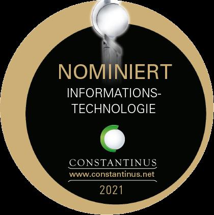 Nominiert für den Constantinus Award 2021